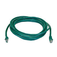 Monoprice 14FT 24AWG Cat5e 350MHz UTP Bare Copper Ethernet Network Cable - Green
