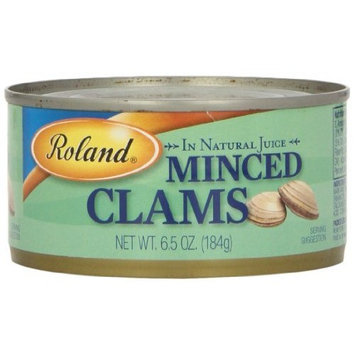 Roland Minced Clams, 6.5-Ounce Can (Pack of 12)