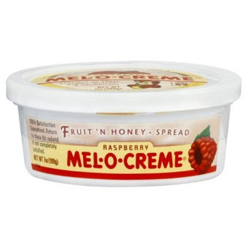 Mel O Cr me Mel O Creme Honey Spread Raspberry Fruit, 7-Ounce