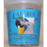 Lafebers Macaw and Cockatoo Pellets