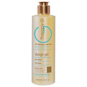 Therapy-g Design Gel For Thinning or Fine Hair 250ml/8.5oz by Therapyg