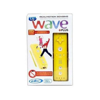 Intec G5706 Lil Wave Plus Wii Remote - Yellow