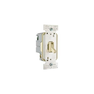 Preferred Industries 609500 Dimmer-Toggle, Single Pole, Ivory