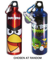 Commonwealth Toy Angry Birds Aluminum Water Bottle