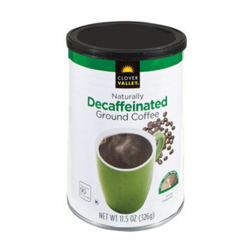 Clover Valley Classic Ground Coffee - Decaffeinated - 11.5 oz