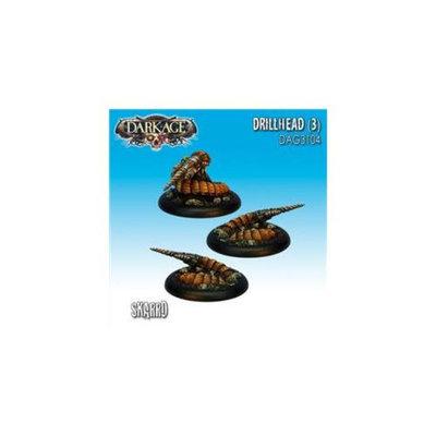 Dark Age Games 3104 Skarrd Drillheads - 3, Miniatures And Miniature Games