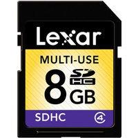 Lexar Media, Inc. Lexar 8GB Secure Digital High Capacity (SDHC) Memory Card.