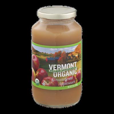 Vermont Village Organic Applesauce Unsweetened