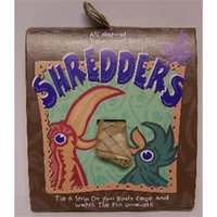 Planet Pleasures Shredders Straight Natural Bird Toy, 1