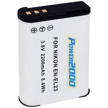 Power2000 ACD-423 Rechargeable Battery for Nikon EN-EL23