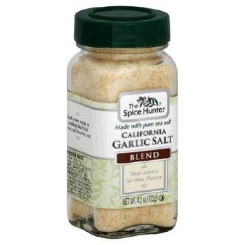 Spice Hunter Garlic Sea Salt 4.3 oz (Pack Of 6)