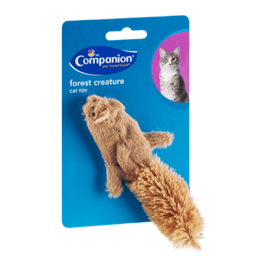 Companion Cat Toy Forest Creature