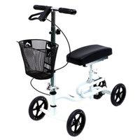 Karman Luxury Lightweight 4-Wheeled Knee Walker with Basket