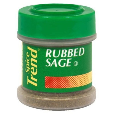 Spice Trend Sage Rubbed, 0.2500-ounces (Pack of 6)