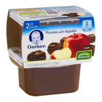 Gerber 2nd Foods Prunes with Apples - 2 CT