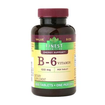 Finest Vitamin B-6 100mg Tablets