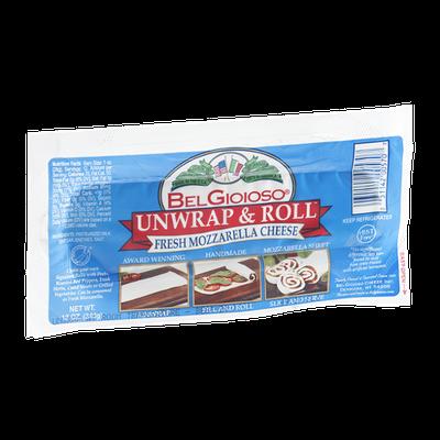 BelGioioso Unwrap & Roll Fresh Mozzarella Cheese