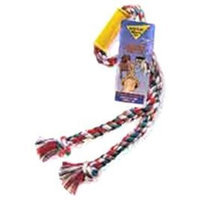 Booda Wonder Tug Twin Dog Toy, Colors Vary