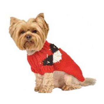 Max's Closet Modern Argyle Dog Sweater
