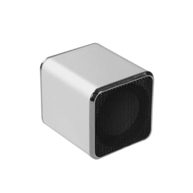 Insten INSTEN Mini Silver Speakers For PC Computer Laptop iPod MP3 iPhone Cell phone Mobile