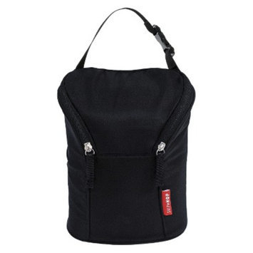 Grab and Go Double Bottle Bag - Black by Skip Hop