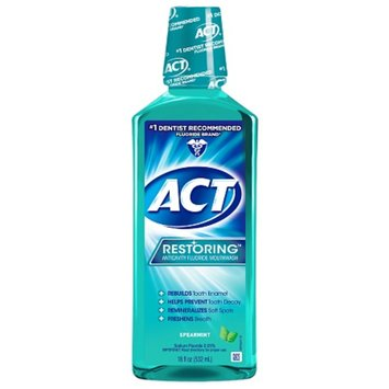 ACT Restoring Mouthwash Anticavity