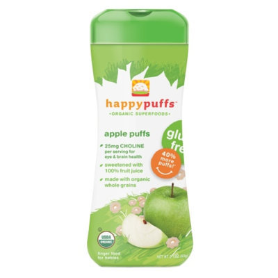 Happy Puffs Organic Finger Food for Babies