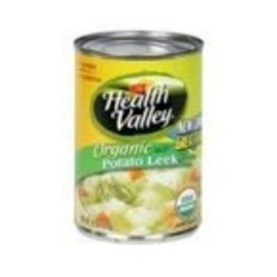 Heath Valley Natural Foods Health Valley Organic Soup Potato Leek -- 15 fl oz