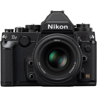 Nikon Df 16.2MP Digital SLR Camera with AF-S 50mm f/1.8G Lens - Black