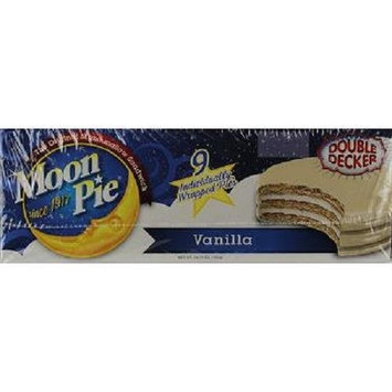 MOON PIE DOUBLE DECKER VANILLA ( 9 in a Pack )