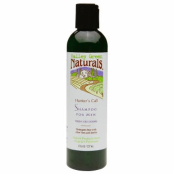 Valley Green Naturals Hunter's Call Shampoo for Men, Fresh Outdoors, 8 fl oz