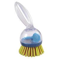 Casabella Soap Dispensing Loop Dish Brush - Multicolor