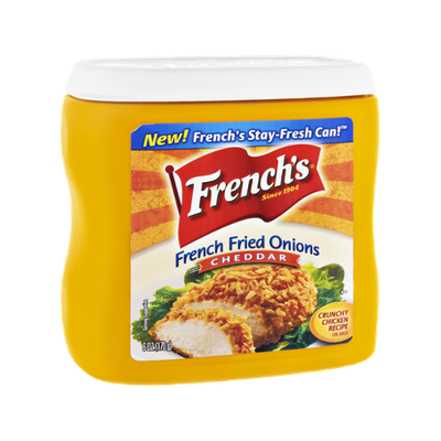 French's Cheddar French Fried Onions