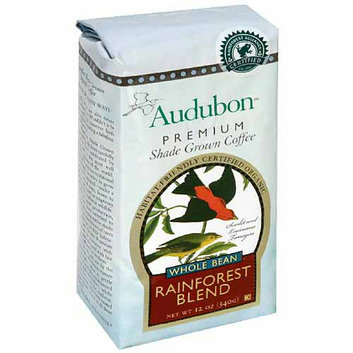 Audubon Premium Shade Grown Rainforest Blend Whole Bean Coffee