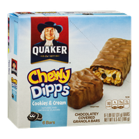 Quaker Chewy Dipps, Cookies & Cream