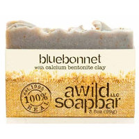 A Wild Soap Bar Organic Soap Bar, Bluebonnet, 3.5 Ounce