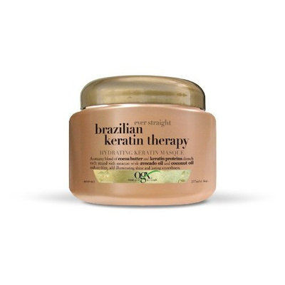 OGX® Hydrating Keratin Masque, Ever Straight Brazilian Keratin Therapy