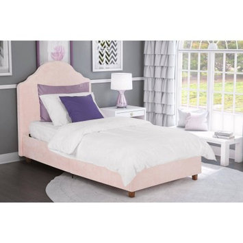 Dorel Home Products DHP Savannah Pink Upholstered Twin Bed