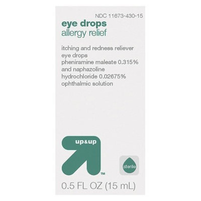 up & up Eye Drops Allergy Relief