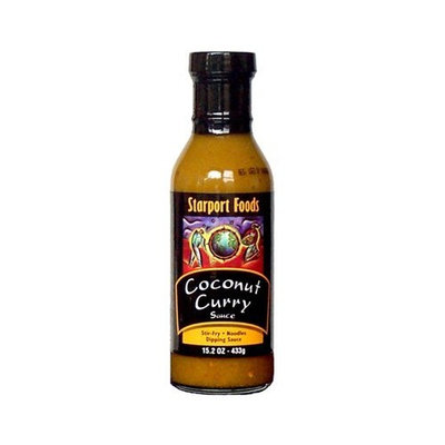 Starport Foods Coconut Curry Sauce (Retail) Net Wt. 15.2 Oz
