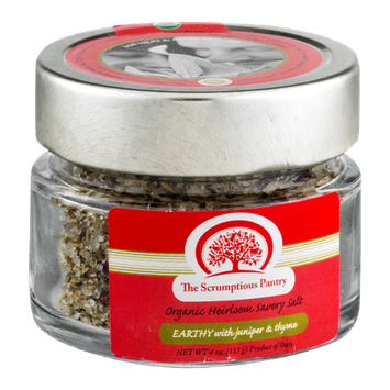 The Scrumptious Pantry Organic Heirloom Savory Salt Earthy