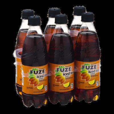 Fuze Iced Tea Lemon- 6 CT