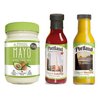 Primal Kitchen and Portland Ketchup Company Paleo Condiment Pack #1- Primal Kitchen Mayo and Portland Ketchup and Mustard