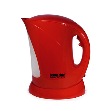 Better Chef IM-144R 1.7L Red Cordless Kettle