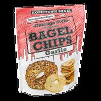 Hometown Bagel Chicago Style Bagel Chips Garlic