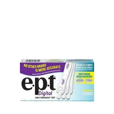 e.p.t. Pregnancy Test, Certainty, 3-Count Tests