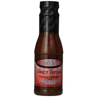 Dinni's Select Ginger Teriyaki Sauce, Salad Dressing, Grilling Sauce, 12-Ounce Bottles (Pack of 3)