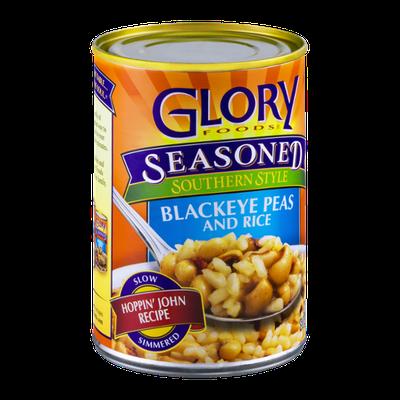 Glory Foods Seasoned Southern Style Blackeye Peas and Rice