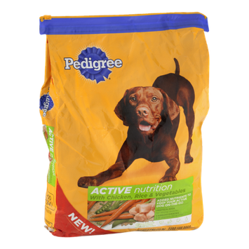 Pedigree Active Nutrition Dog Food Chicken, Rice & Vegetables