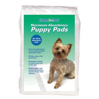 Clean Go Pet Maximum Puppy Absorbency Pad, 100/Pack